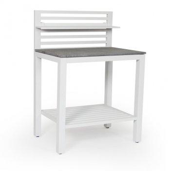 Модульная летняя кухня brafab bellac white стол для сада