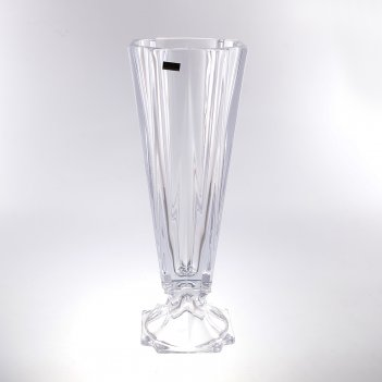Ваза для цветов crystalite bohemia metropolitan 43,5 см