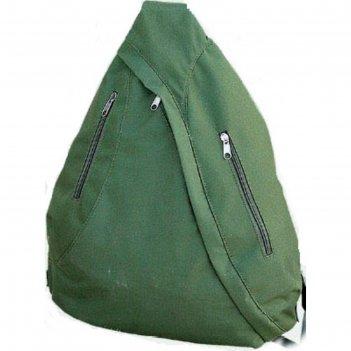 Рюкзак одноплечевой, цвет хаки