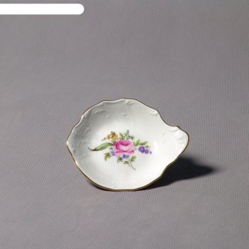 Розетка с ручкой, bernadotte, декор мейсенский букет