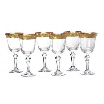 Набор бокалов для вина из 6 шт.лаура 220 мл.