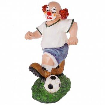 Фигурка декоративная клоун, l12,5w12,5h24см