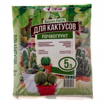 Почвогрунт 5 л (2,3 кг) кактус