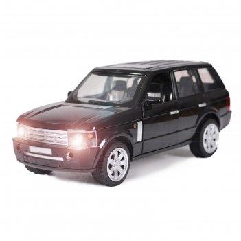 Машина металлическая «джип», 1:24, открываются двери, капот, багажник, ине