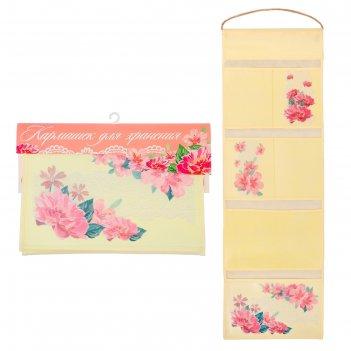 Кармашки подвесные цветы, 6 отделений
