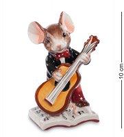 Cms-52/ 1 фигурка мышонок-музыкант (pavone)