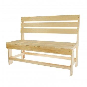 Скамейка нераскладная без подл. (полок) 1200*550*900