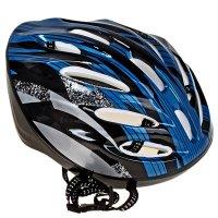 Шлем велосипедиста взрослый от-11, размер l, цвет: синий