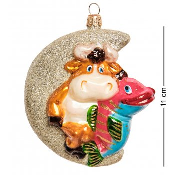 Бф-902 фигурка подвесная бык-рыбы