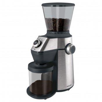 Кофемолка sencor scg 6050ss, 150 вт, 350 г, серебристая