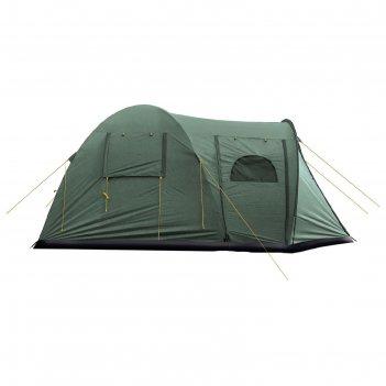 Палатка, серия casmping osprey 4, зеленая, 4-ех местная