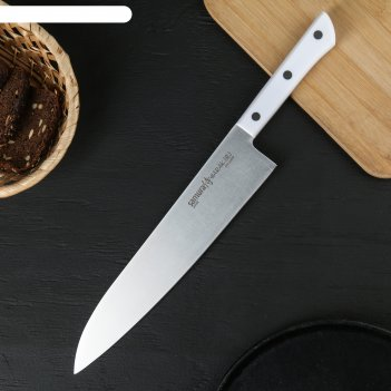 Shr-0087w/k нож кухонный samura harakiri гранд шеф 240 мм, корроз.-стойкая