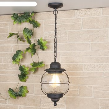 Светильник elektrostandard садово-парковый, 60 вт, e27, ip44, подвесной, r