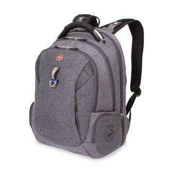"""Рюкзак из ткани grey heather с отделением для ноутбука 15"""" (31 л) wen"""