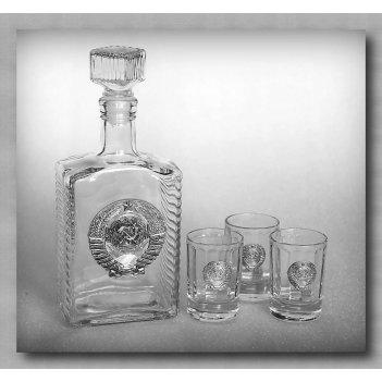 Набор для водки  ссср  арт. ншт110ср-13