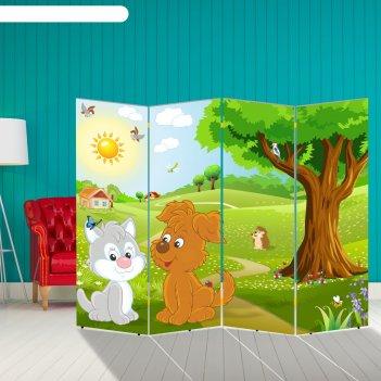 Ширма детская, 200 x 160 см