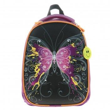 Рюкзак каркасный luris колибри 1 38x28x18 см колибри 1 для девочки, «бабоч