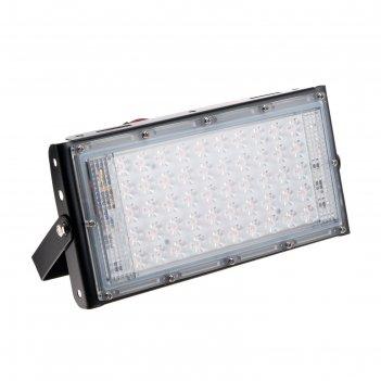 Прожектор фито светодиодный модульный luazon lighting, для растений, 50вт,