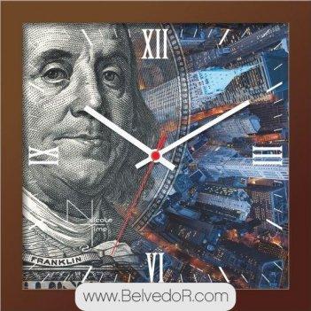 Настенные часы nicole time nt662br