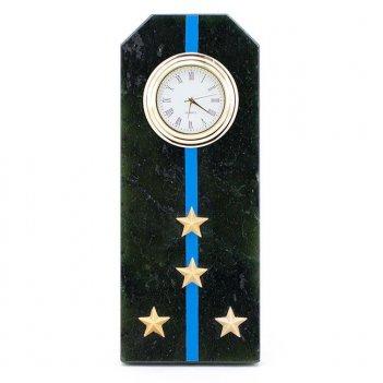 Часы погон капитан авиации вмф камень змеевик