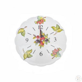 Часы настенные nuova cer лесные ягоды 29,5см