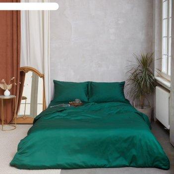 Постельное белье этель 2сп emerald lake 175*215см, 200*215см, 50*70-2 шт,