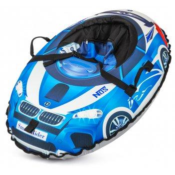 Надувные санки-тюбинг small rider snow cars 2 (110х86 cm) синий