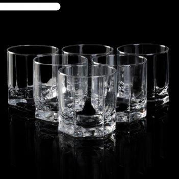 Набор стаканов для виски 243 мл танго, 6 шт