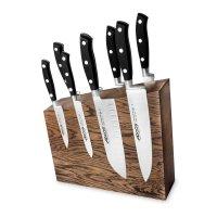 Набор из 8-ми кухонных ножей на подставке из дуба, серия riviera, arcos, и