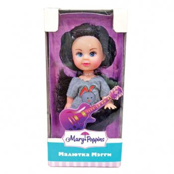 Кукла мегги музыкант 9см.