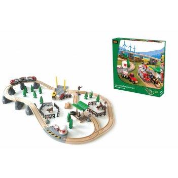 33040, набор железной дороги brio загородное путешествие