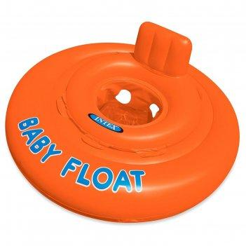 Круг для плавания с сиденьем baby float 76 см, от 1-2 лет