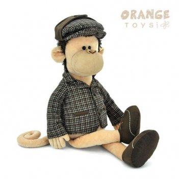 Мягкая игрушка обезьяна шерлок 45