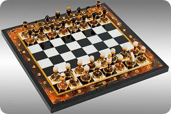 Шахматы из яшмы 40х40см