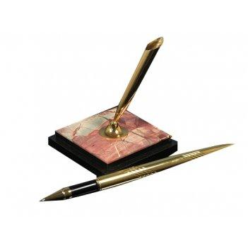 Подставка из яшмы ручка на подставке