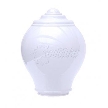 Светильник венчающий «милан» белый цвет белый