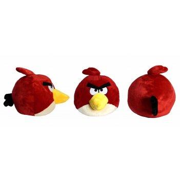 кав040, angry birds мягкая игрушка, красная птица