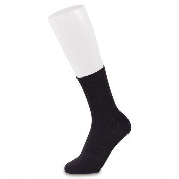 Носки женские smooth asw-0007  35-39 черный (artsocks)