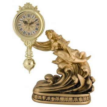 Скульптурные часы из полимерных смол восток 8375-1