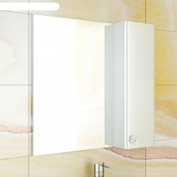 Зеркало-шкаф для ванной флоренция-70 75 х 70 1,5 см, белый