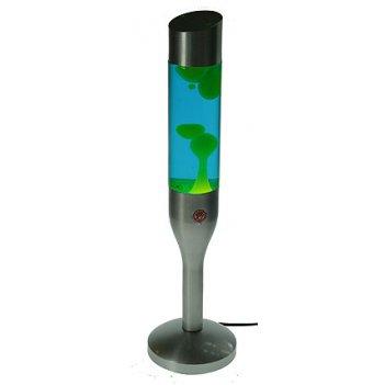 Настольный светильник лава d=15см, 54см