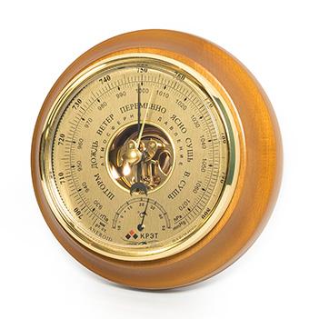 Барометр бтк-сн-17 шлифованное золото