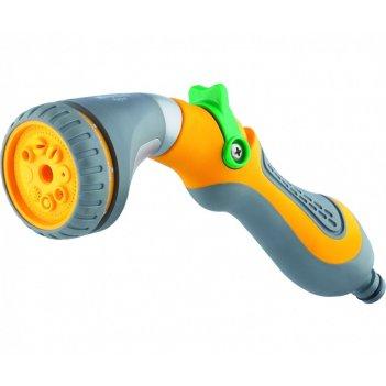 Пистолет-распылитель, 8 режимов полива, эргономичная рукоятка palisad luxe