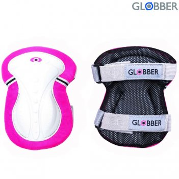 541-110 защита globber junior xs нарукавники и наколенники  deep pink