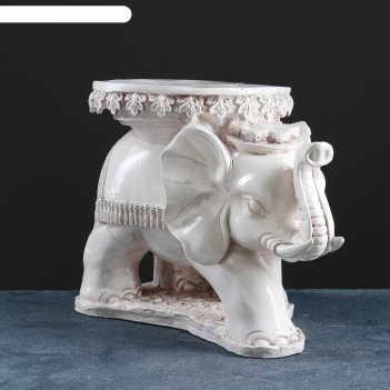 Фигура-подставка слон звезда состаренный