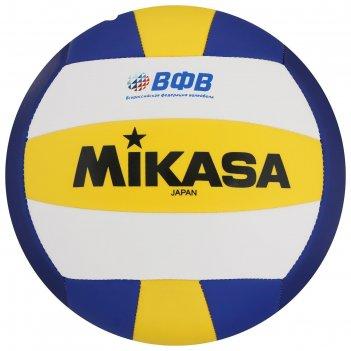 Мяч волейбольный mikasa vso2000, р.5, бело-желто-синий