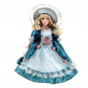 Кукла коллекционная ирина с сумочкой 30 см