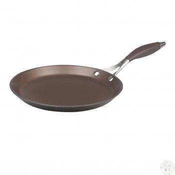 Сковорода блинная repast dark chocolate диаметр 26 см, высота 2 см
