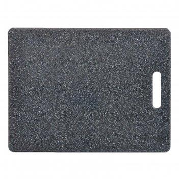 Доска разделочная 36.5x27.5x0.8 см, пластик