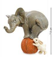Ed-429 фигурка слоненок и зайчонок